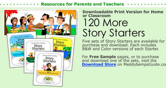 Free Illustrated Story Starters from the Young Writers Workshop